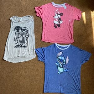 Disney Shirt Bundle